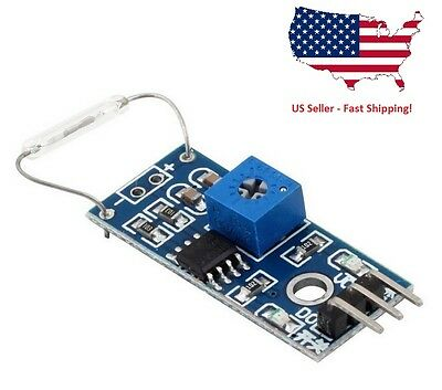 1PC 1PC -- Reed sensor module magnet module reed switch MagSwitch For Arduino