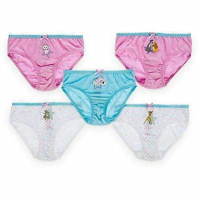 DISNEY FAVORITES UNDERWEAR SET FOR GIRLS Bambi, Marie, and Lady and the Tramp 4