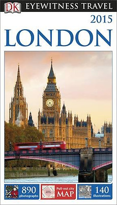 DK Eyewitness Travel Guide: London (Eyewitness Travel Guides), Good Condition Bo