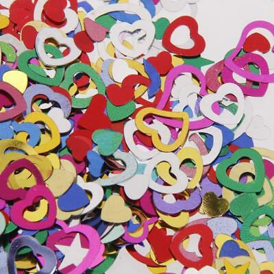 Mixed Heart Wedding Table Confetti Party Decor Scatter Sprinkles