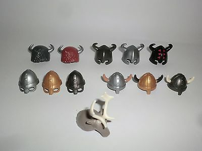 Playmobil Helm Helme Brillenhelm Fellmütze Wikinger Germanen Gallier Barbar