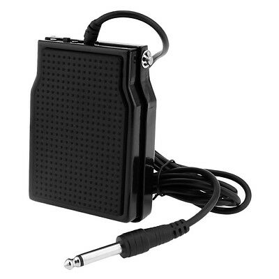 Universal Electronic Piano Drum Keyboard Sustain Pedal Damper Foot Controller