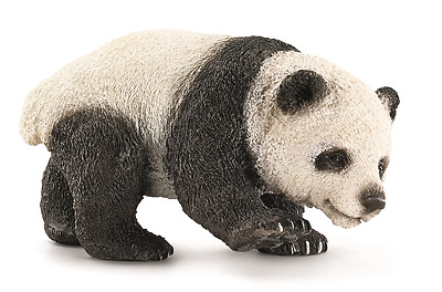 New Schleich Giant Panda Cub Wild Life Puppy Playing Daily Children Toy Age 3+