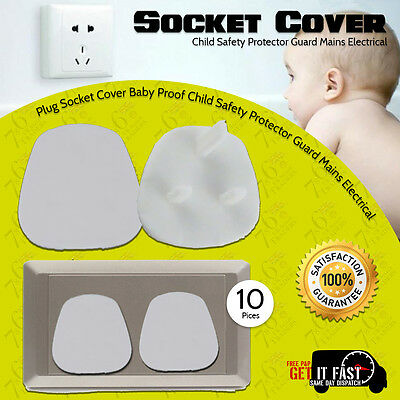 New Plug Socket Cover Baby Proof Child Safety Protector Guard Mains Electrical