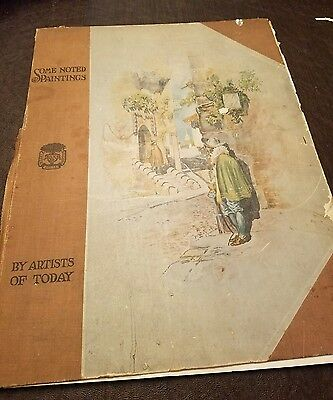 RARE Antique Oversized Book D. Appleton and Company artists of today 1895