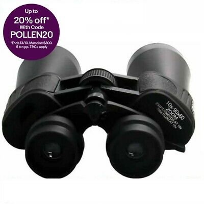 Clearance Professional 10-90x80 Zoom Binoculars Camping Outdoor View Bag Strap