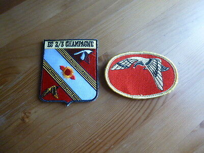 Mirage 2000 LOT 2 Patch Escadron 2/3 SPA 75 Officiel Original armée air France