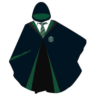 Harry Potter Poncho Slytherin Official Licensed Film Product