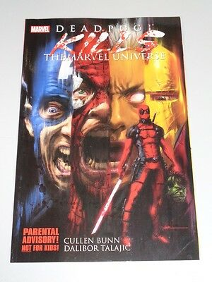 Deadpool Kills Marvel Universe Marvel Comics (Paperback)  9780785164036