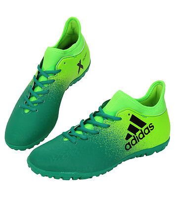 Adidas X 16.3 TF BB5875 Soccer Cleats Football Boots Shoes Futsal Turf Green 0dc0b4bd6b77b