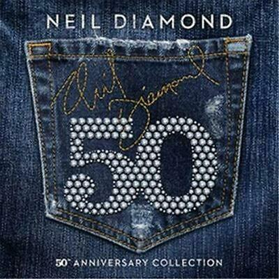 50th Anniversary Collection - Neil Diamond Compact Disc Free Shipping!