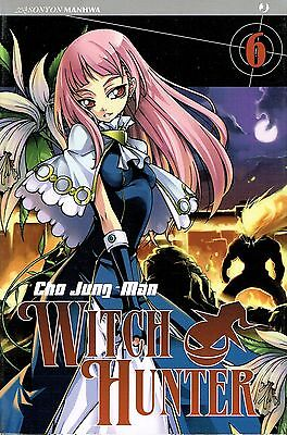 Witch Hunter n. 6 di Cho Jung-Mon * SCONTO 50% NUOVO * ed. J Pop