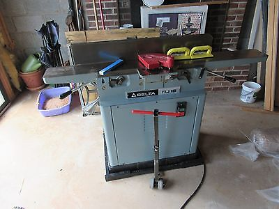 Delta Dj 15 37 150 6 Jointer Planer W Mobile Base Woodworking And Extra Blades
