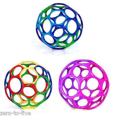 """Bright Starts Oball 4"""" - Flexible Bendable Ball - Baby Toy - Teether  0 months +"""