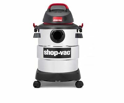 Shop Vac 6 Gallon Stainless Steel 4.5 Peak HP Wet Dry Vacuum Cleaner Car Auto