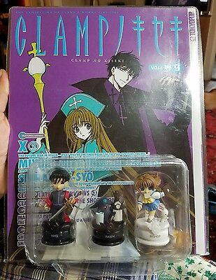 Clamp No Kiseki Volume 9 Tokyopop Manga With Chess Pieces Factory Sealed New