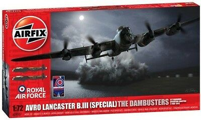 Airfix A09007 Avro Lancaster Dambuster Building Kit, 1:72 Scale