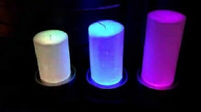 Partylite COLOR CHANGING CANDLE BASE  NIB