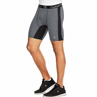 87294 Champion PowerFlex Mens Solid Compression Shorts