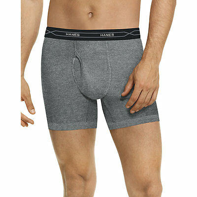 973XF3 Hanes Mens TAGLESS X-Temp Boxer Briefs with Comfort Flex Waistband Assort