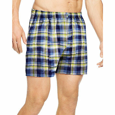 UTHXZ3 Hanes Mens TAGLESS Ultimate Fashion Boxer with ComfortFlex Waistband Asso