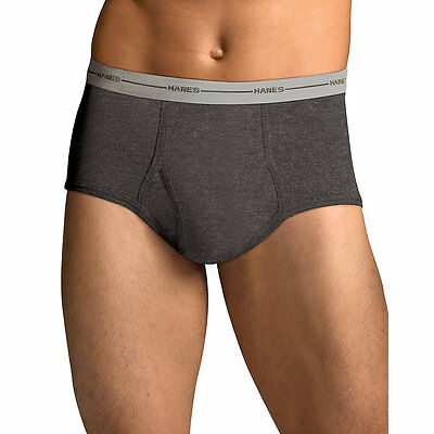 7822P5 Hanes Mens TAGLESS ComfortSoft Full Rise Dyed Brief with Comfort Flex Wai