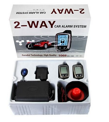 Brand New Car Alarm System 2-Way With Remote