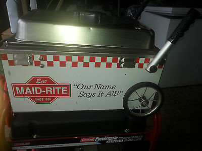 Maid-Rite Global Carts Table Top Warmer Wagon