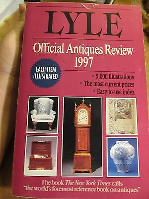 Lyle: The Lyle Official Antiques Review 1997 by Anthony Curtis (1996, Paperback)