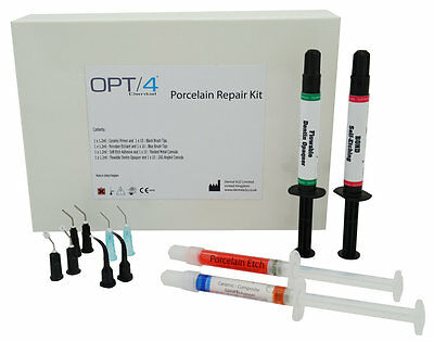 Dental Supply Porcelain Repair Kit for Ceramic Veneers Bridges, PFM In-office