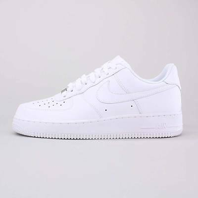 Nike Air Force One 1 Gs Scarpe Uomo Donna Unisex Sneakers Bianche Basse