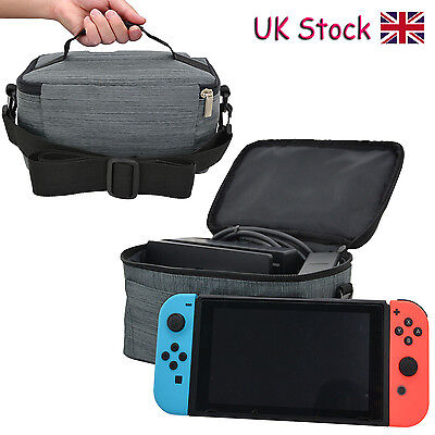 Travel Bag Carry Case For Nintendo Switch or Dock With Accessory Storage Bag -GY
