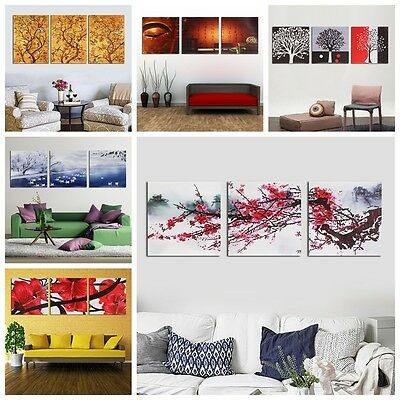 Canvas Print Modern Home Decor Wall Art Picture Room Oil Paintings Unframed New