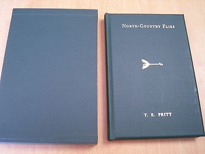 NORTH COUNTRY FLIES by T.E. PRITT FINE IN SLIP CASE SIGNED BY LESLIE MAGEE