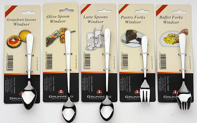 Windsor Carded Cutlery Olive/Pckle Fork Stainless Steel