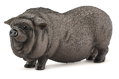 New Schleich Potbellied Pig Farm Nature Playing Daily Children Fun Toy Age 3+