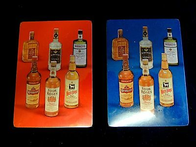 Vintage Four Roses Distillers Company Set of 2 Two Decks Playing Cards Sealed