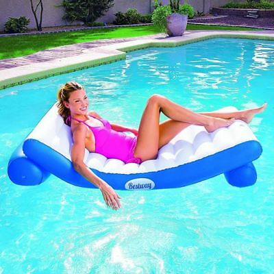 Bestway Luxury Inflatable Float Swimming Pool Lounger Air Bed Mat Mattress Lilo
