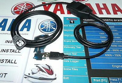 YAMAHA Diagnostic system kit (Jet Boat+Outboard+PWC) ORIGINAL JAPANESE CONNECTOR