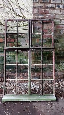 Reclaimed vintage metal window frame from 1930s/40s.