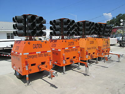 Horizon Emergency Portable Traffic Signal Trailers  Model Sq4 Ex-County Owned