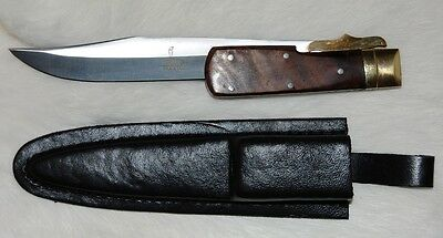 HUGE GIANT MONSTER FOLDING HUNTING KNIFE W/ SHEATH - NEW - Fast Shipping!