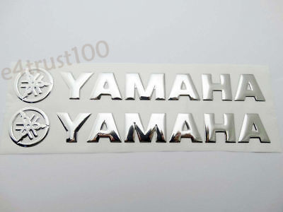 Motorcycles Body Fairing 3D Decal Gas Tank Badge Emblem For YAMAHA Sticker 20CM