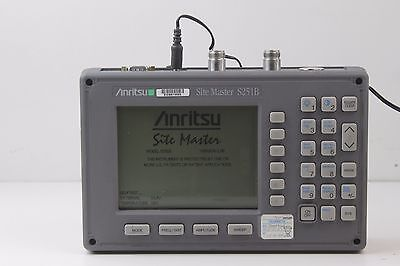 Anritsu S251B Sitemaster Two Port Transmission Cable Antenna Analyzer {2283 IL7}