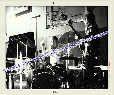 Cream Eric Clapton Snapshot At High School Early 1968 Unique Fans Snapshot Rare