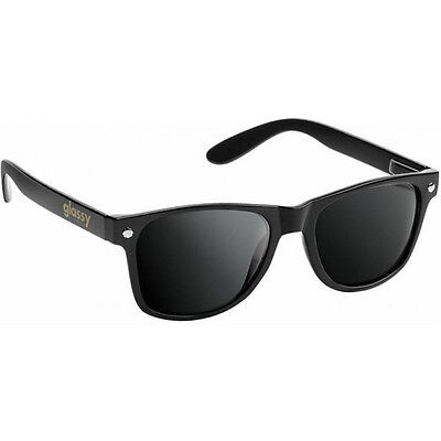 "New in box GLASSY Sunhaters ""Leonard"" Skateboard Sunglasses (Black)"