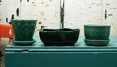 Lot of Vintage Planters