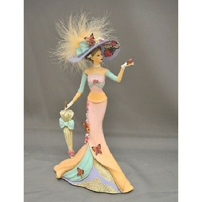 Timeless Love Affair by Lena Liu  Lady Figurine Bradford Exchange