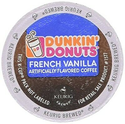 Dunkin Donuts K-cups French Vanilla - 72 Count read description