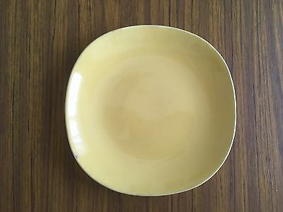 South Seas Meakin Sunshine Yellow Side Plate